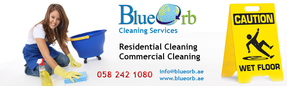 Maid Services Dubai , Blue Orb Cleaning Services Dubai