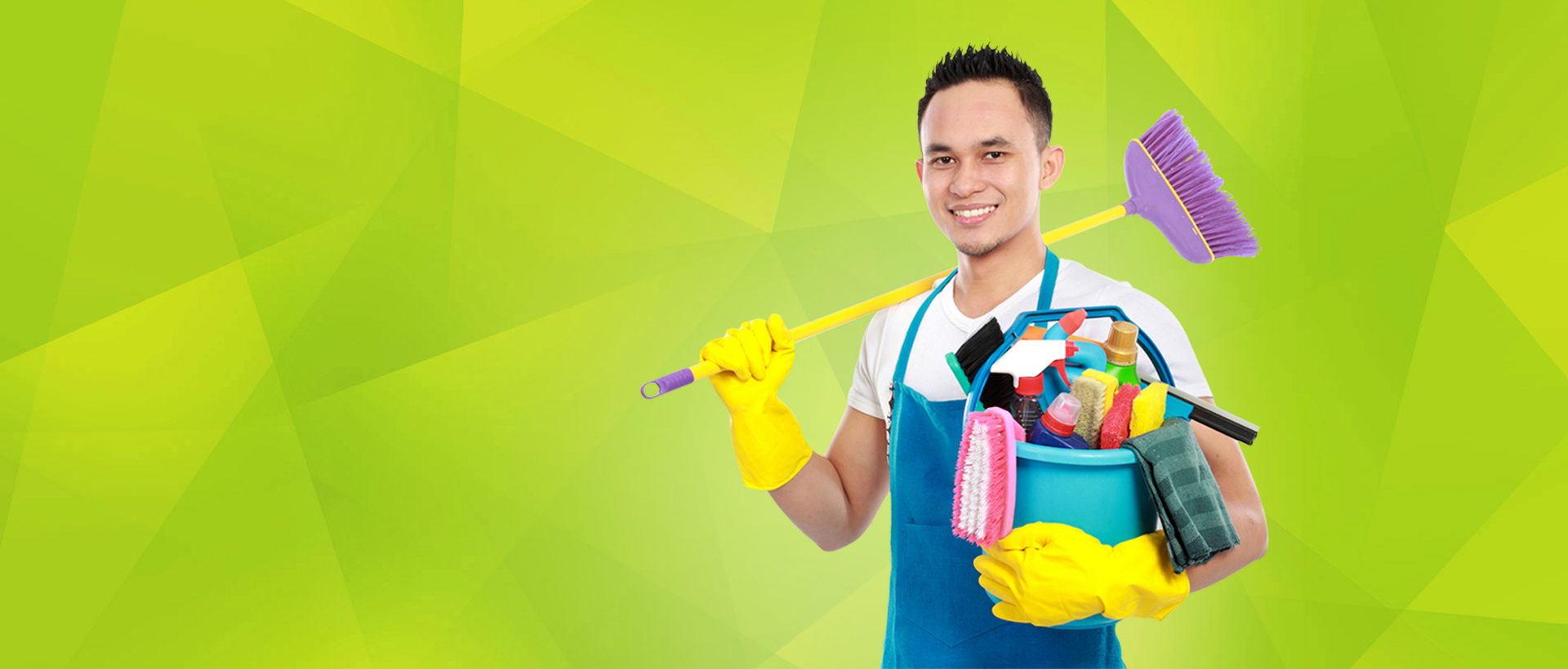 Experienced Male and Female Cleaners