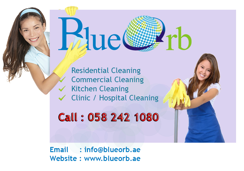 Blue Orb Cleaning Contact Us